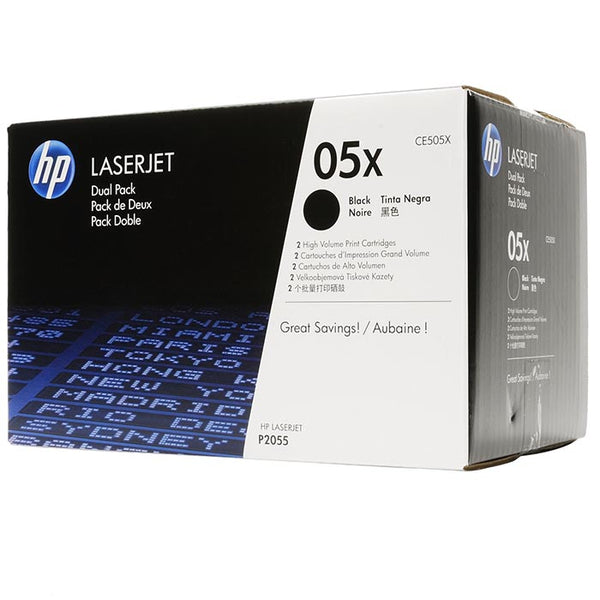 HP CE505X Twin-Toner Pack