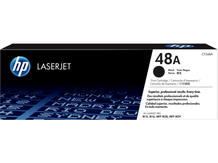 HP CF248A / 48A Black Toner ~1,000 Pages For Laserjet Pro M15A M15W MFP M28A M28W