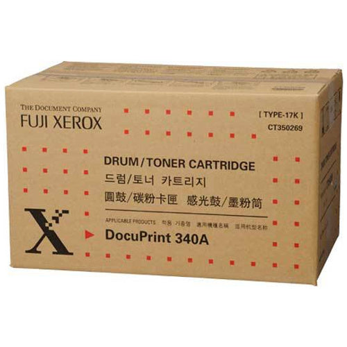 CT350269 Genuine FUJI-Xerox Black Toner Cartridge for 340A. Up to 17,000 pages.