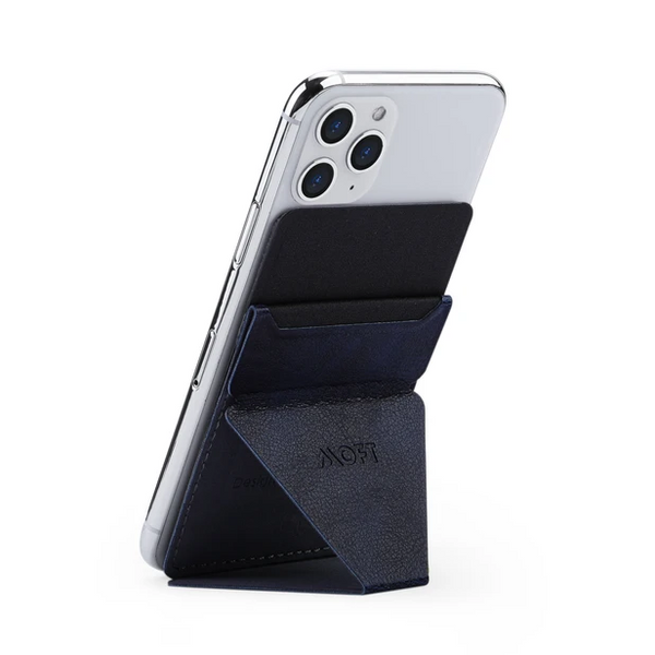 MOFT X Grey - [AU Stock] Invisible and Foldaway Mobile Stand | Ultra-Light Phone Wallet, Car Phone Holder