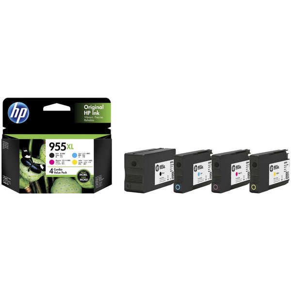 HP 3YP12AA 955XL Inks Cartridges Genuine Value Pack
