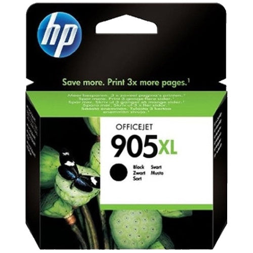 HP GENUINE T6M17AA #905XL Black Ink ~825 pages