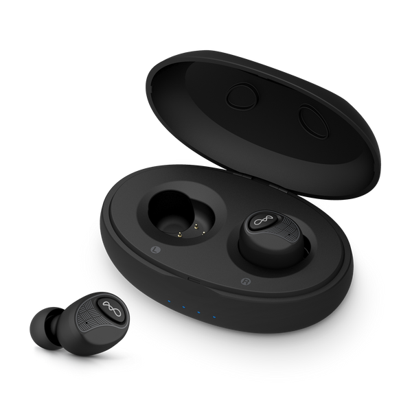 Genuine BlueAnt Pump AIR 2 Wireless Microbuds [Black] | World's smallest and lightest True Wireless Microbuds