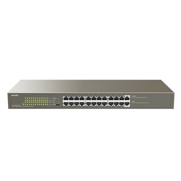 TN-TEF1218P-16-250W Tenda 16FE+2GE/1SFP Smart Switch With 16-Port PoE