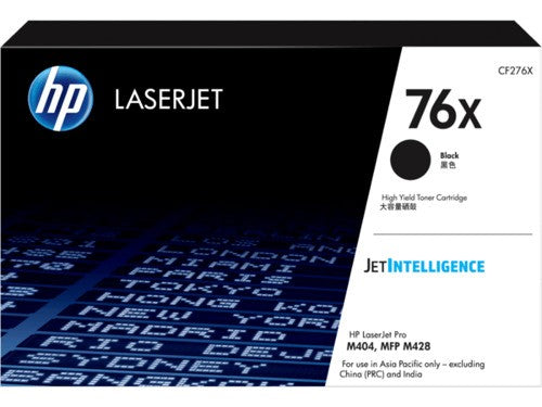 HP CF276X / 76X High Yield Black Toner