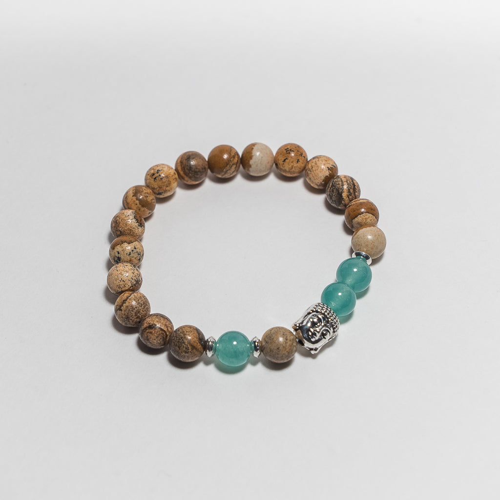 Let It Be Buddha Bracelet