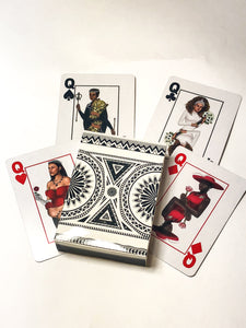 Black Excellence Playing Cards Queens