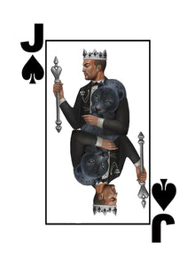 Black Excellence Black Jack of Spades