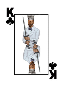 My Cards Black Excellence Black King of Clubs