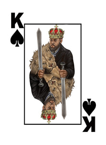 Black Excellence Black King of Spades