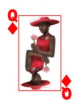 Black Excellence Black Queen of Diamonds