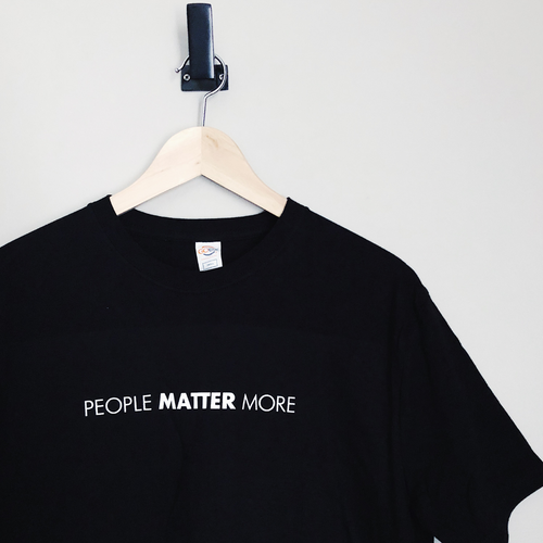 People Matter More T-shirt