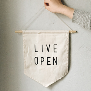 Live Open Banner