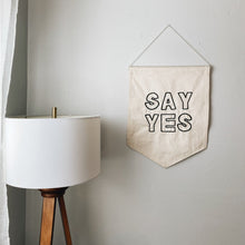 Say Yes Banner