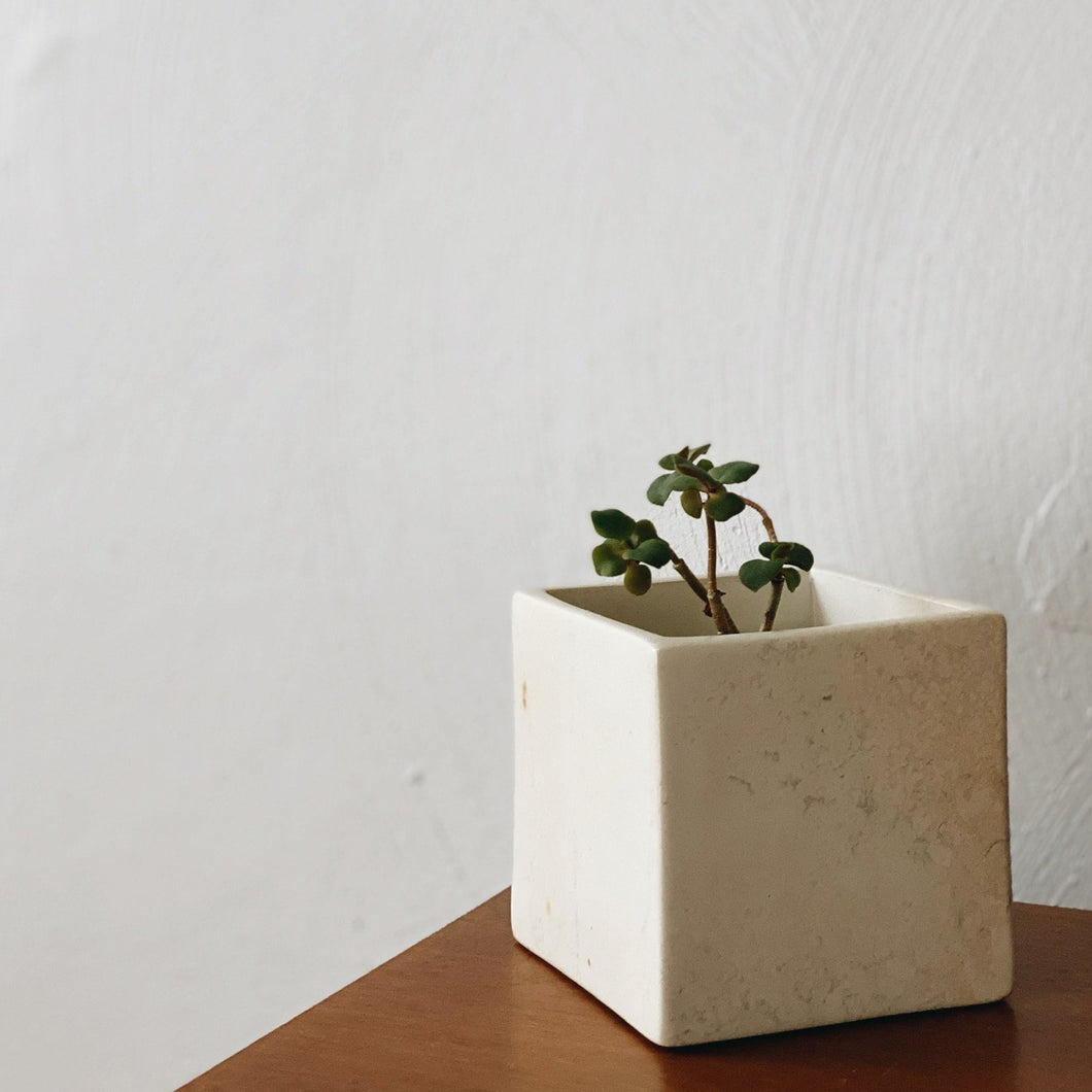 Soapstone Square Planter