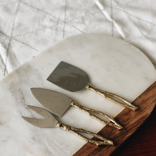 Branches Cheese Knife Set
