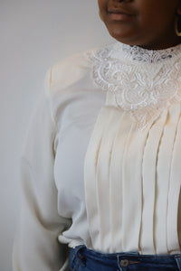 Ivory Lacey Blouse