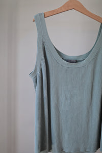 Sweet Blue Sweater Tank