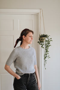 Simple Gray Sweater
