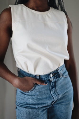 Sweet + Simple Ivory Top