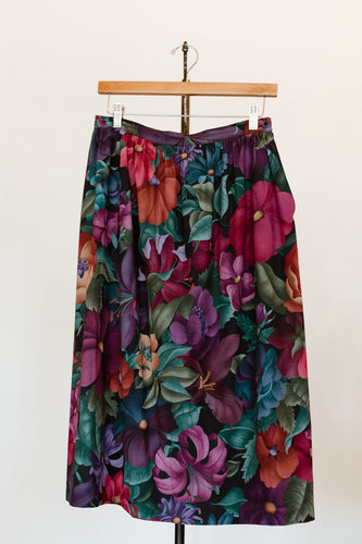 Winter Flower Skirt