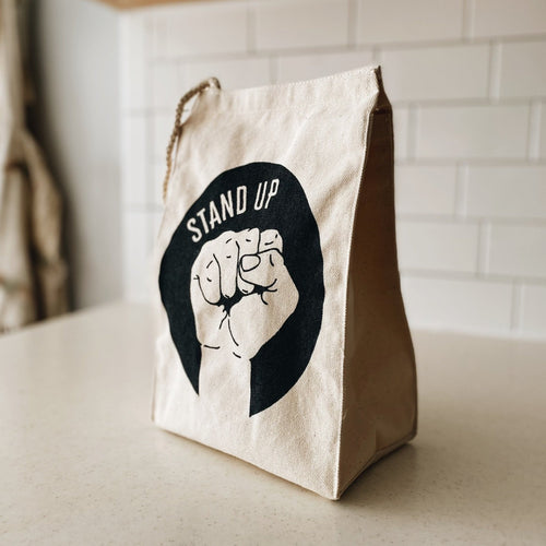 Stand Up Lunch Bag
