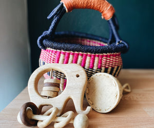 Wooden Rattle