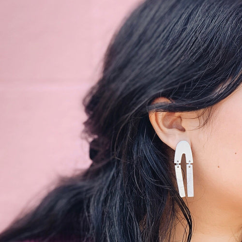 Dara Aluminum Drop Earring