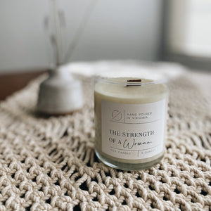 Strength of a Woman Candle