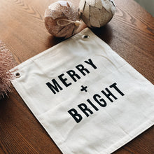 Merry + Bright Banner