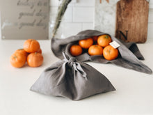 Reusable Linen Pouch