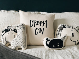 Dream On Throw Pillow