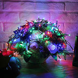 300 LED solar String lights RGB/white