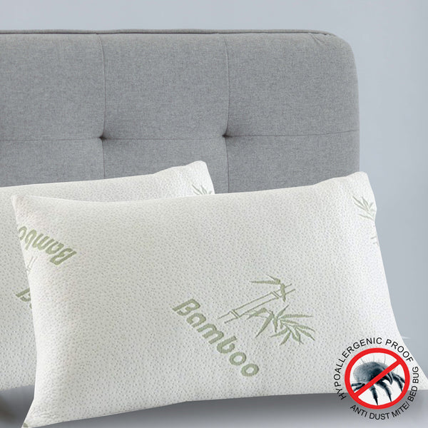 Royal Comfort Bamboo-Covered Memory Foam Pillows