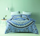MANDALA QUILT COVER SET -KING DESIGN E