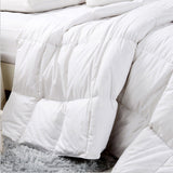 Royal Comfort - Silver Goose Feather Quilt & Two Pillow Combo Set - Various Sizes