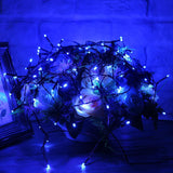 250LED Solar String Lights White/RGB