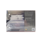 Royal Comfort 1200 Thread count Damask Stripe Cotton Blend Quilt