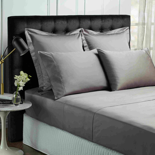 Park Avenue 1200 Thread count Egyptian Cotton Sheet sets Queen Pewter