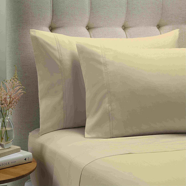 Style & Co 1000 Thread count Egyptian Cotton Essex Sheet sets King Vanilla