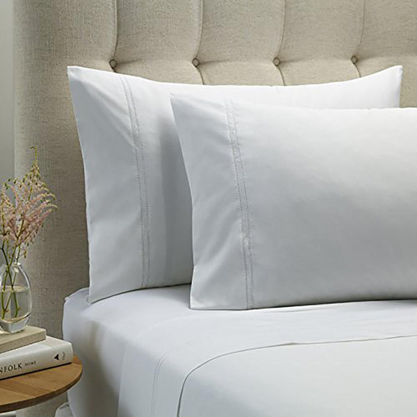 Style & Co 1000 Thread count Egyptian Cotton Essex Sheet sets Mega Queen White