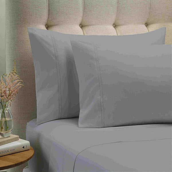 Style & Co 1000 Thread count Egyptian Cotton Essex Sheet sets Mega King Silver