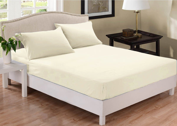 Park Avenue 1000 Thread Count Cotton Blend Combo Set Mega King Bed Pebble