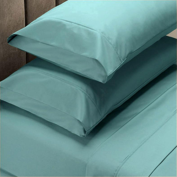 Ddecor Home 1000tc Cotton Blend Sheet sets Queen - teal