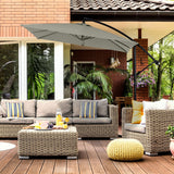 Milano Outdoor 2.2 Metre Square Umbrella - Various Colours