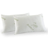 Ultra Soft Duck Feather and Down 500GSM Quilt & Bamboo Pillows Twin Pack - Various Sizes