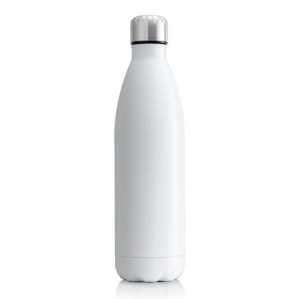 Milano Stainless steel Insulated drink bottles 750ML - MATT White