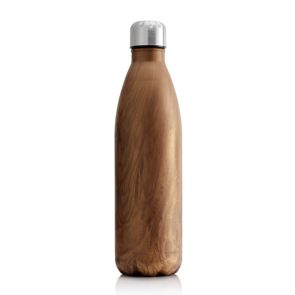 Milano Stainless steel Insulated drink bottles 750ML - WOODEN