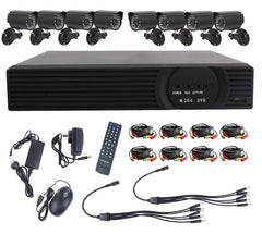 Home Surveillance System 8 Channel Cameras 720p with 1TB Hard Drive