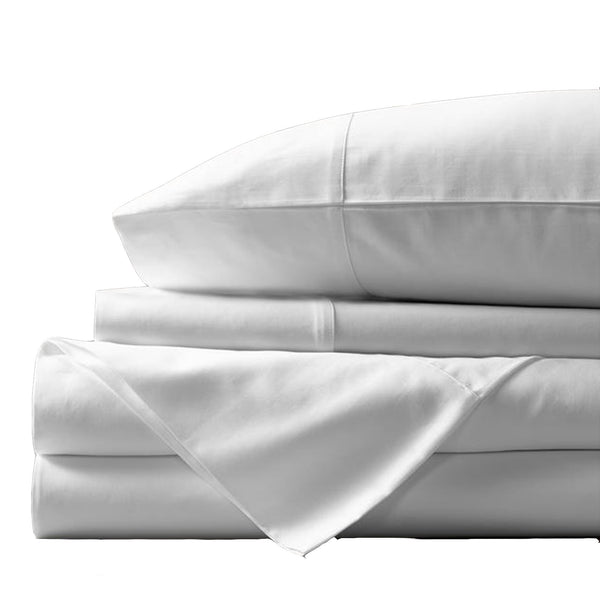 Royal Comfort Balmain 1000 Thread Count Bamboo Cotton Quilt Cover Set and Twin Pack Bamboo Pillows Combo - Various Colours and Sizes